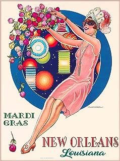 Best vintage mardi gras art Reviews