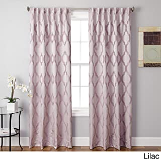 Softline Monica Pedersen Burton Curtain Single Panel Lilac 54 x 108 108 Inches