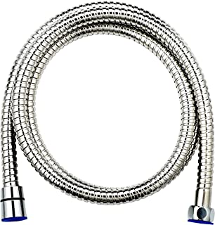 AHODGREAT Replacement Shower Hose 79 Inch Stainless Steel Extra Long Flexible, Chrome Finish