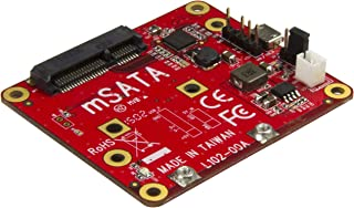 StarTech.com USB to mSATA Converter for Raspberry Pi and Development Boards - USB to Mini SATA Adapter for Raspberry Pi (PIB2MS1)