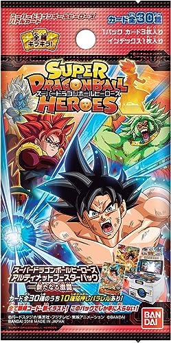 Todos los productos obtienen hasta un 34% de descuento. Super Dragon Ball Ball Ball Heroes Ultimate Booster Pack - New Fierce Battle Trading Cards Box  nuevo listado