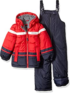 London Fog Boys' 2-Piece Snow Pant & Jacket Snowsuit