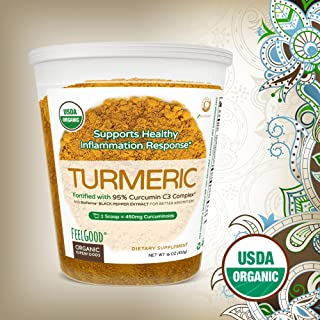 Feel Good Organic Turmeric Powder
