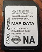 ZW00E NISSAN CONNECT SD CARD , NAVIGATION GPS MAP DATA , NAVTEQ , NA/NORTH AMERICA US CANADA 2010 2011 2012 2013,2014 25920-ZWOOE ,ROGUE VERSA JUKE CUBE SENTRA NV200 1500 2500 3500 , LATEST UPDATE