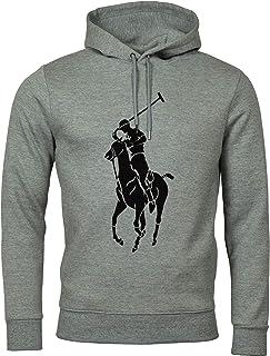 Men's Double-Knit Big Pony Graphic Logo Hoodie