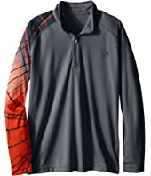 Spyder Kids - Linear Web Dry W.E.B. T-Neck (Little Kids/Big Kids)