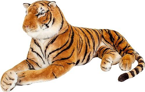 hasta un 70% de descuento Brubaker Tigre Grande de Peluche Peluche Peluche 220 cms. de Color marrón  envio rapido a ti
