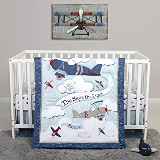 Sammy & Lou 4 Piece Crib Bedding Set, Adventure Awaits