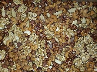 Gemengde noten 1 Kg (amandelen, hazelnoten, cashewnoten, pecannoten, paranoten en walnootkorrels) , hersluitbare zak