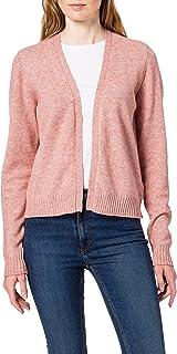 Vila womens VIRIL SHORT L/S KNIT CARDIGAN - FAV Cardigan Sweater