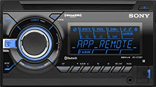 Sony WXGT90BT Bluetooth/App Remote Car Stereo Receiver with Pandora (Black) (Discontinued by Manufacturer)