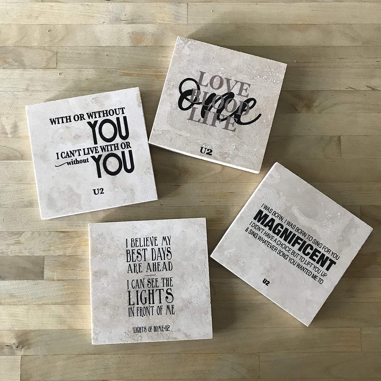 Outlet SALE Indianapolis Mall U2 lyrics Coasters
