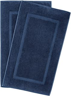 900 GSM Machine Washable 20×34 Inches 2-Pack Banded Bath Mats, Luxury Hotel &..