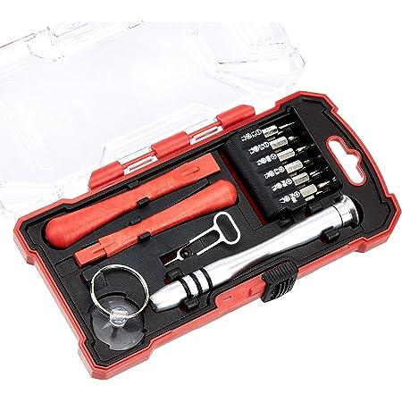 Amazon Basics 17-Piece Electronics Repair Screwdriver Set