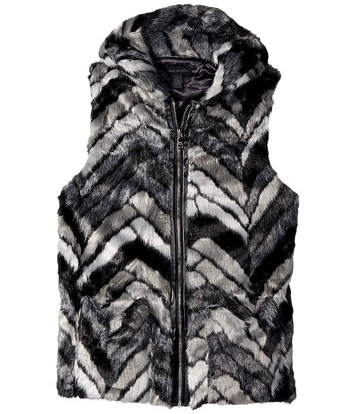 Steve Madden Chevron Vest6pm Fur Hood WDEHI29