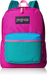 Jansport Exposed Fashion Backpack For Unisex - Purple, JS0A3C4X4C0