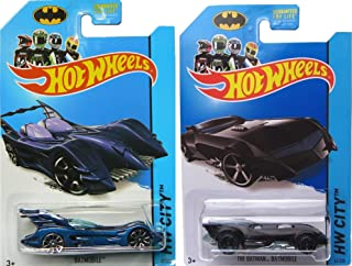 Batmobile Affinity & The Batman 75th Anniversary Hot Wheels Cars IN PROTECTIVE CASES