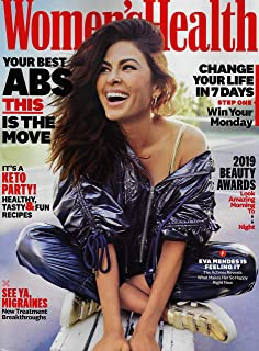 Women's Health Magazine May 2019 EVA MENDES Cover, YOUR BEST ABS, KETO PARTY