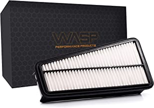 CA9683,17801-0P010 Replacement V6 Engine Air Filter for 4Runner (2003-2009), FJ Cruiser (2007-2009), Tacoma (2005-2015), Tundra (2005-2011)