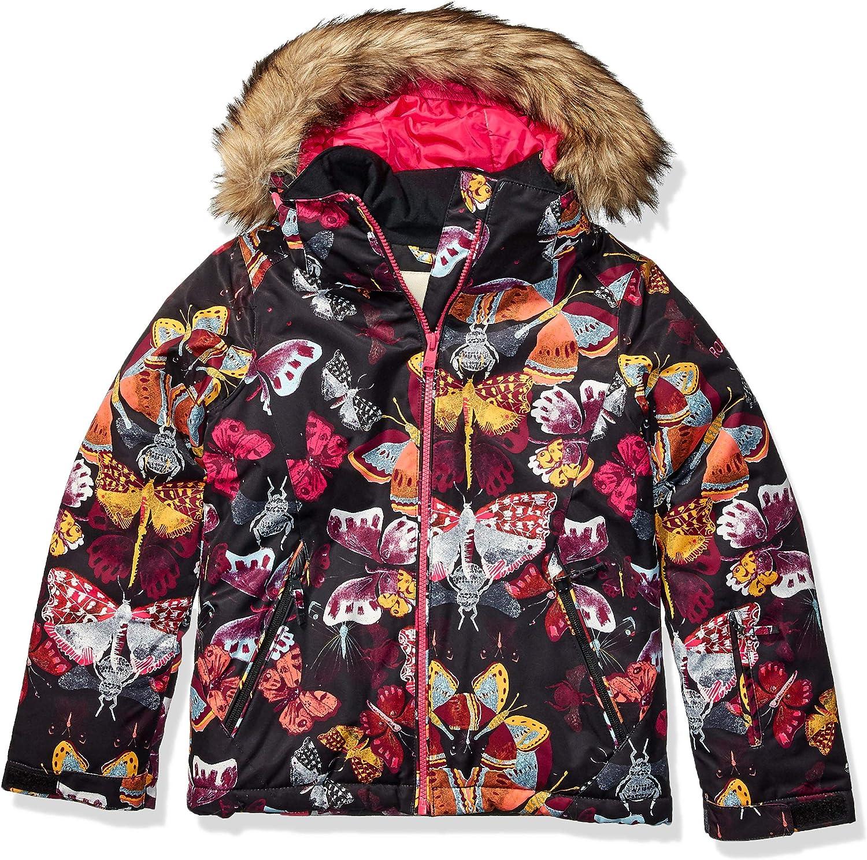 Roxy Girls American Pie Snow Jacket for Girls 8-16 Ergtj03084