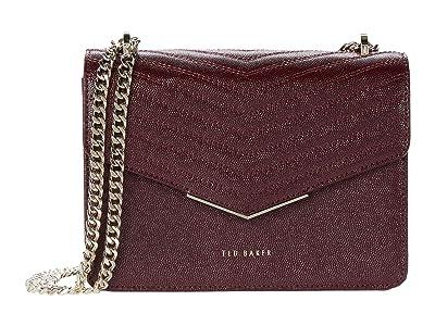 Ted Baker Shakib Crossbody (Dark Purple) Handbags