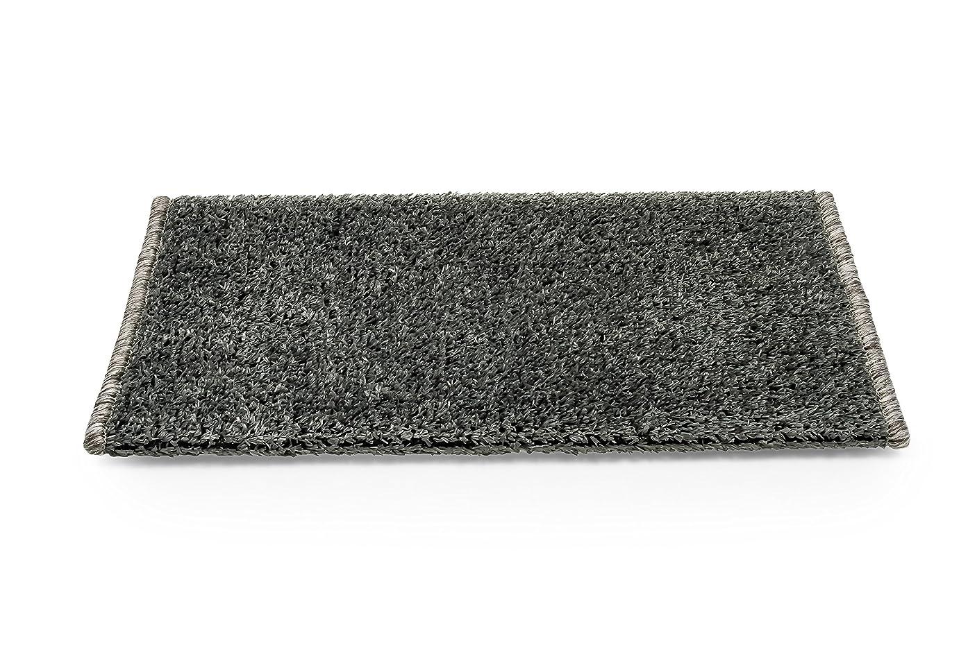 Camco 42918 Gray Premium Wrap Around RV Step Rug (Turf Material (17.5