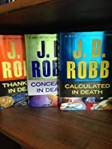 Thankless in Death Concealed in Death Calculated in Death:JD Robb Set