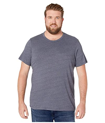 Alternative Big Tall Eco Crew T-Shirt (Eco True Navy) Men