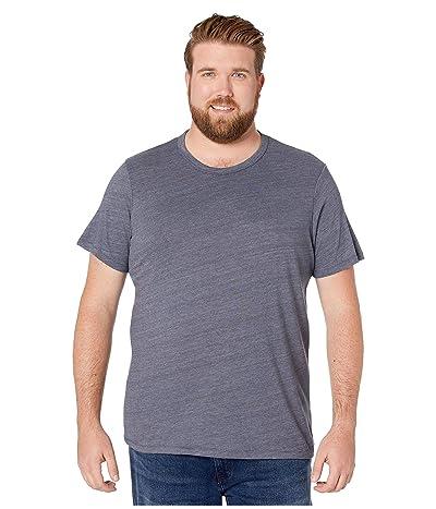 Alternative Big Tall Eco Crew T-Shirt (Eco True Navy) Men