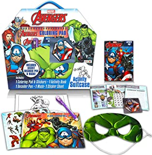 Marvel Avengers Craft Set for Kids - Ultimate Superhero Arts and Crafts Bundle with Activity Book, Coloring Pads, Sticker...