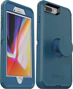 OtterBox + Pop Defender Series Case for iPhone 8 Plus & iPhone 7 Plus (ONLY) Non-Retail Packaging - Winter Shade