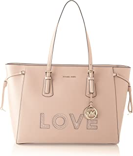 Michael Kors Voyager, Bolso tipo tote para Mujer, Rosa, 15.9x27.9x36.8 centimeters (W x H x L)