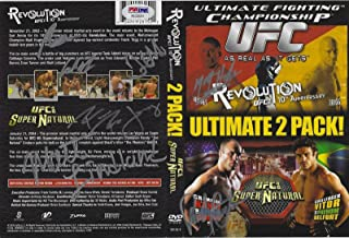 Matt Hughes Randy Couture Frank Mir Carlos Newton + Signed UFC 45 46 DVD - PSA/DNA Certified - Autographed UFC Miscellaneous Products