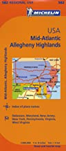 Best road map of mid atlantic states Reviews
