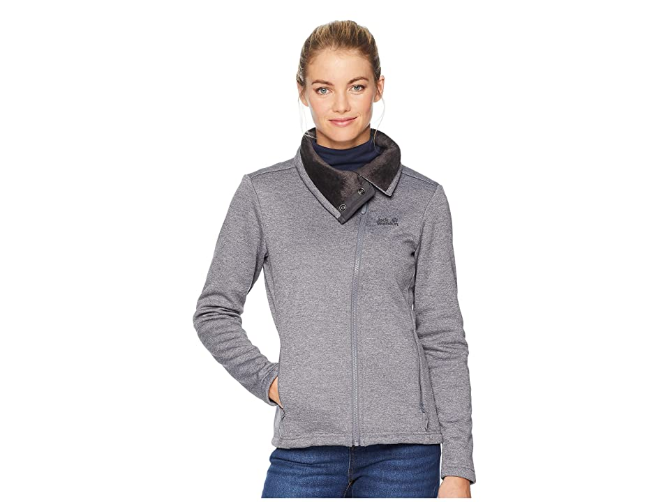 Jack Wolfskin Atlantic Sky Jacket (Pebble Grey) Women
