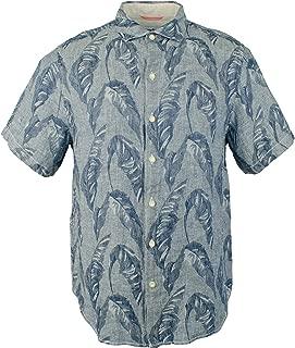 Tommy Bahama Men's Help Me Fronda Linen Camp Shirt