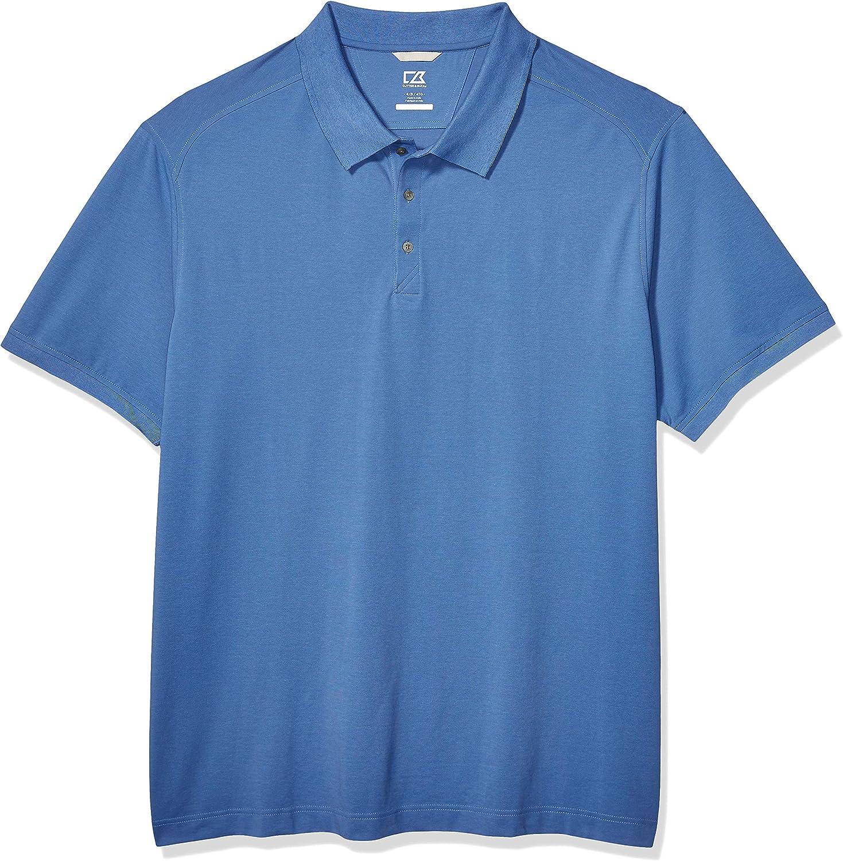 Cutter & Buck mens Big & Tall 35+upf, Short Sleeve Advantage Polo Shirt
