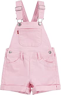 Levi's Girls' Denim Shortall