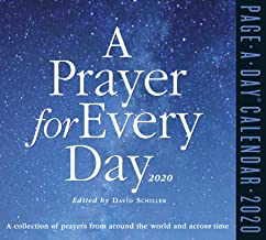 A Prayer for Every Day Page-A-Day Calendar 2020 [5.5