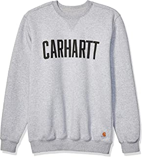 Carhartt Men's Block Logo Crewneck Sweat Sweatshirt