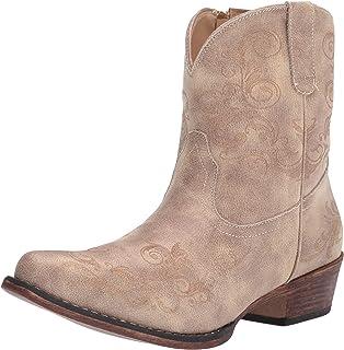 Roper womens Western Boot,Tan,9.5