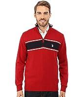 U.S. POLO ASSN. - 1/4 Zip Sweater