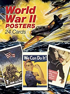 World War II Posters: 24 Cards (Dover Postcards)