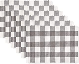 DII Classic Buffalo Check Tabletop Collection for Family Dinners, Special Occasions,..