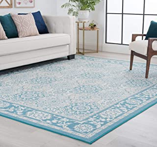 Best teal traditional rug Reviews