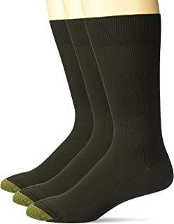 Gold Toe Men's Metropolitan Dress Sock 3-Pack