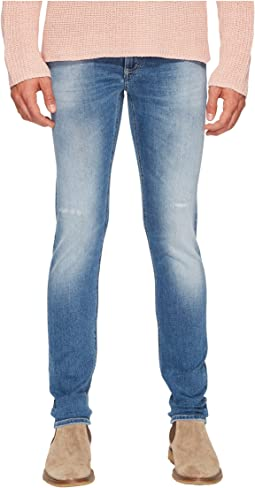 CLOSED - Super Stretch Prep Skinny Jeans
