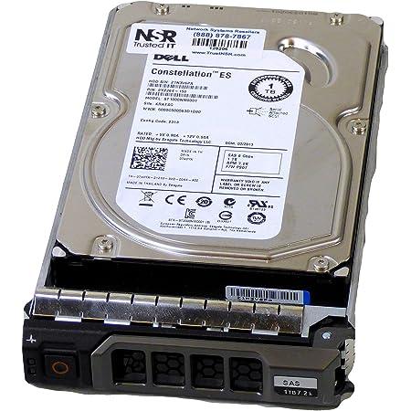 Dell Seagate 1TB 7.2K RPM 6Gbp//s SAS 3.5 Inch Hard Drive 740YX ST1000NM0001