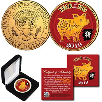 $2 Bill 2019 CNY Chinese Lunar New YEAR OF THE PIG Genuine U.S CHINA MOBILE