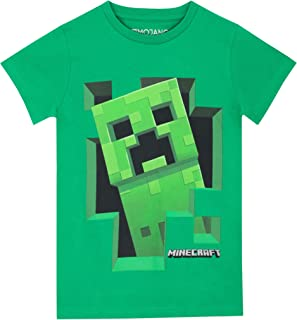 Minecraft Boys' Creeper T-Shirt